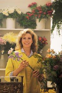 retail advertising florist shop
